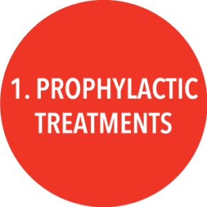 1. Prophylactic Treatments